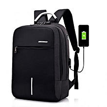 2019 Anti Theft Oxford Smart Bag With Power Bank- Smart Laptop Backpack, Security Travel