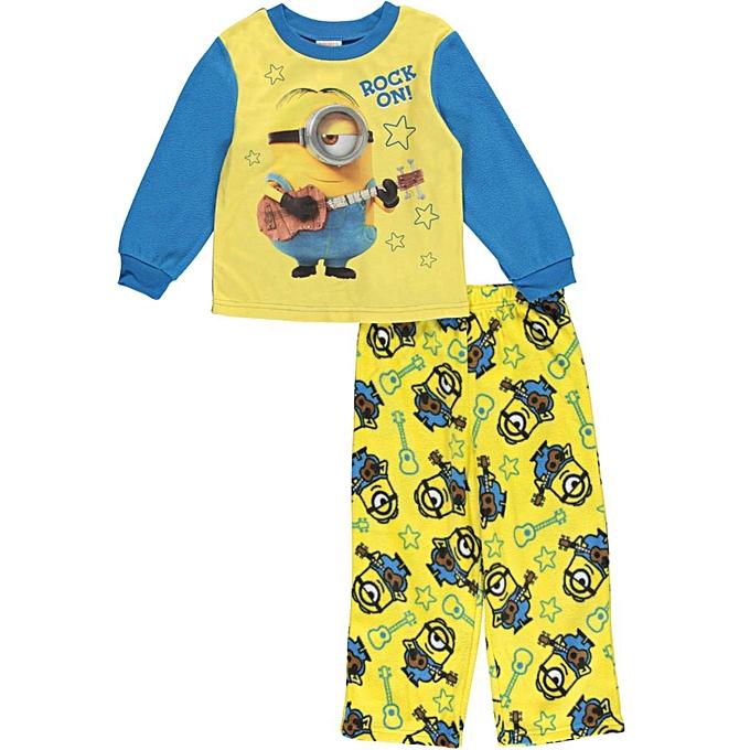 Despicable Me Minions Toddler Boys Rock On 2 Piece Pajamas Set