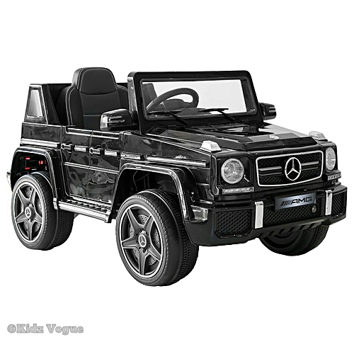 Mercedes G-Wagon Ride-On For Kids - Black