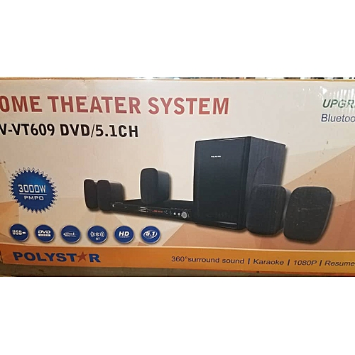 HOME THEATRE SYSTEM WITH DVD (PV-VT609)