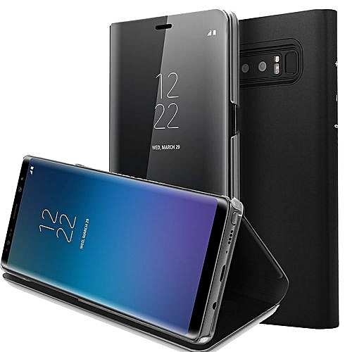 size 40 8b154 f3e24 Samsung Galaxy S8, Flip Sensor Black( High Sensitive Flip Cover, Also Cover  Reflecting Phone Activities) (Stain And Scratch Resistant
