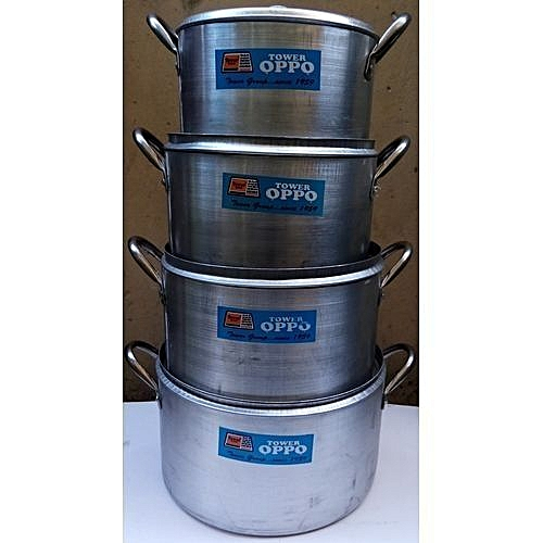 4 Set Of Cooking Pots Cookware