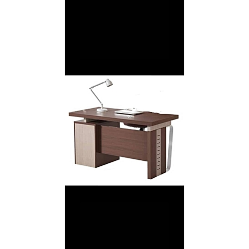 1.4 Metre Executive Office Table- Brown ( Prepaid Only)