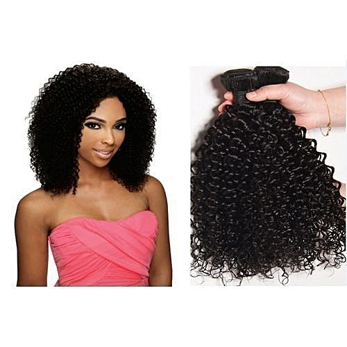 Jerry Curl Wave Hair Weavon - 200g - 12 INCHES (4/6 PCS)