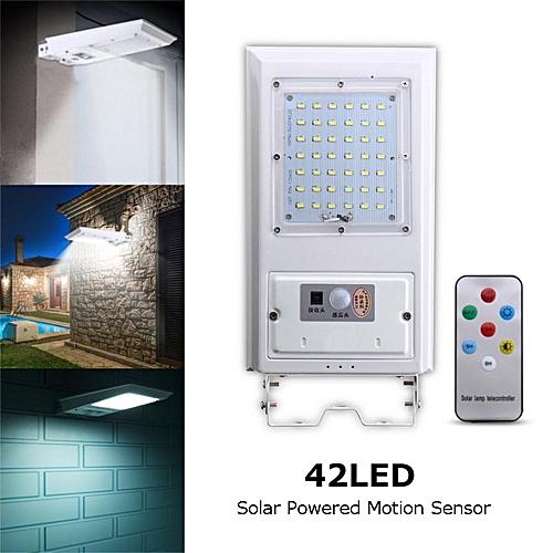 60LED Solar Power Motion Sensor Wall Outdoor Garden Street Light Waterproof Lamp