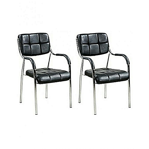 Executive Visitors Chair Set - 2pcs (Lagos Ogun Delivery)