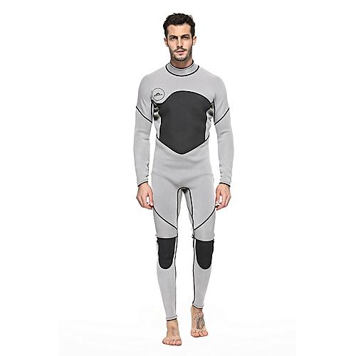 Generic Men's Long-sleeved One-piece Wetsuit Suit 3MM Neoprene Rubber Scuba Diving Jellyfish Suit