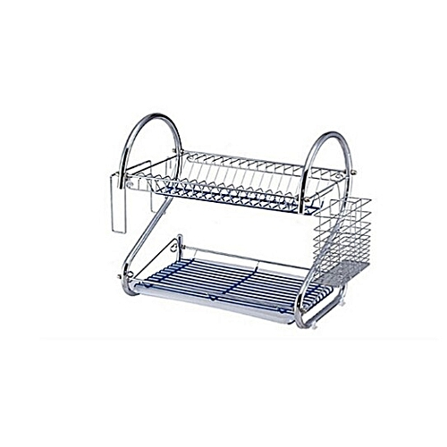 Stainless Plate Drying Rack - 16""