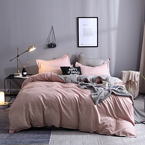 Eger- Apricot Duvet Cover Set 4 Pieces Comforter Set