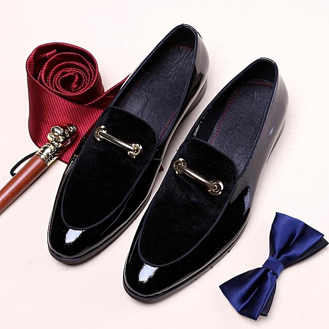 Mens Wedding Shoes.Formal Shoes Men Luxury Brand 2018 Wedding Shoes Men Italian Fashion Mens Shoes Leather Designer Plus Size Dress Shoes Men Black
