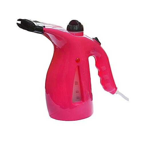 3 In 1 Garment, Face And Cake Steamer - Pink