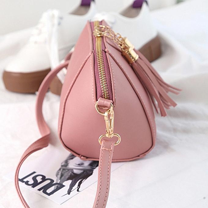 d47d0cfffa32 Eissely Women Fashion Handbag Tassel Shoulder Bag Small Tote Ladies ...