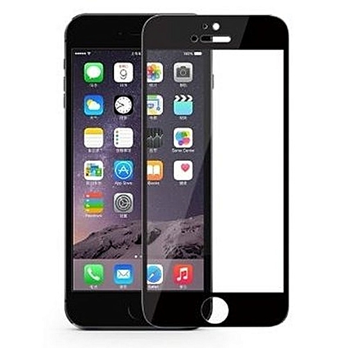 c9255cebbba254 Generic Tempered Glass Screen Protector For IPhone 6 Plus - Black ...