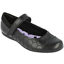 19c55d56e85 CLARKS--Dance Buzz-Girls School Shoe
