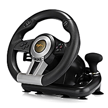 V3II Racing Game Steering Wheel With Foldable Pedal-BLACK for sale  Nigeria