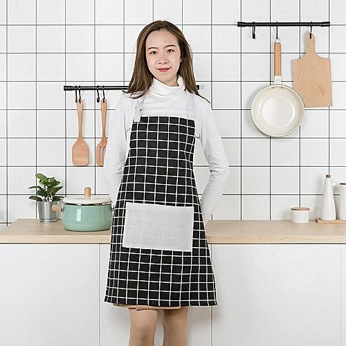 Personality Arts Cotton Fashion Printing Cute Halter Strap Design Apron Comfort Sleeveless Dustproof Antifouling Apron