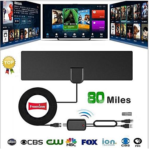 Strong Single HDTV FREE Digital TV Antenna 1080PWall Antenna