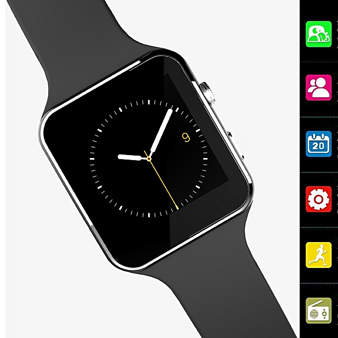 2018 X6 BT3 0 Smart Watch GSM SIM Phone Mate For IOS Android Smart Phone