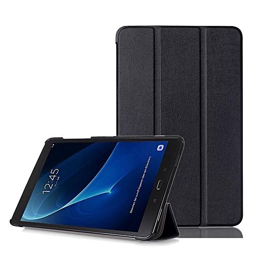 Slim Leather Case Cover For Samsung Galaxy Tab A 10.1 (2016) SM-T580N/T585N BK