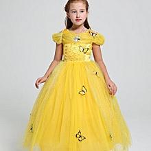 5a46f43122e Girl  039 s Dresses Cinderella Princess Dress Frozen Girl Dress Deluxe  Edition Aisha Queen