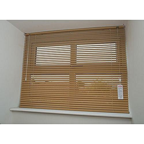 Aluminium Venetian Window Blinds (Light Brown/beige) Prepaid Only