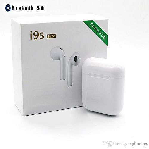 fab6035ec2f Generic Mini I9S TWS Airpods Wireless Bluetooth Earphone Earbuds With Mic  Android (White)