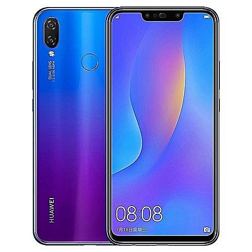 Nova 3i 6 3-Inch FHD+ Octa-Core (4GB RAM, 128GB ROM) Android 8 1 Oreo,  (16MP + 2MP) (24MP + 2MP) Dual SIM 4G Fingerprint ID 3,340mAh Smartphone -  Iris