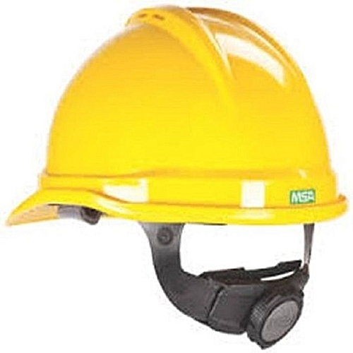 V Guard Safety Helmet - Yellow