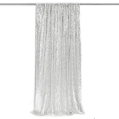 Silver Sequin Photography Backdrop Sequin Background Sequin Curtain