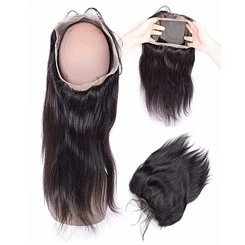 Generic Lace Frontal 360  Human Hair Closure( All Round)  dd4281e9526f