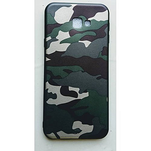 Galaxy J4 Plus/J4 + ,Army Camouflage Back Case---