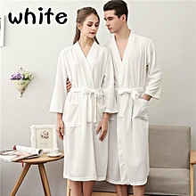 81f3a368fe Men Women Spring And Autumn Thin Terry Cloth Bath Robe Towel Bathrobe  Nightgown Ladies Sexy Pajamas