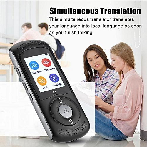 Intelligent Real Time WIFI Voice Translator Multilingual Travel WiFi And SIM Translator