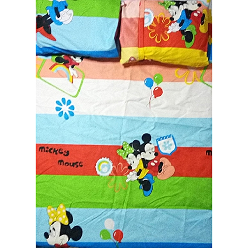 Exclusively Yours Bedding Baby Bed Sheets Mickey And Minnie Mouse