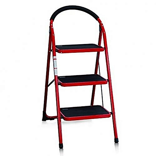 3 Step Hand-grip Folding Step Stool Ladder - Folding/Platform