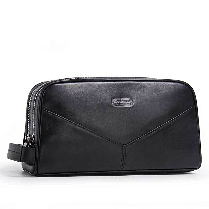 df037e60098 Italy Genuine Leather Men Long Wallet Business Travel Hand Clutch Bag Phone  Purse Casual Man Fashion