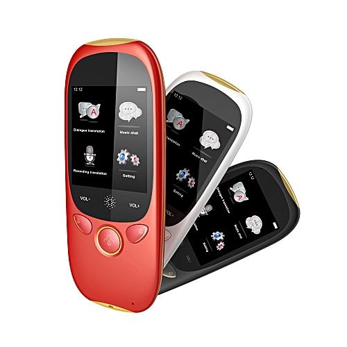 BOELEO K1 Instant Voice Language Translator Device W/1PC Data Line, Switching Line, Card Record, Wristband