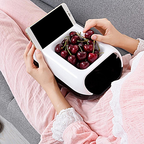 Modern Double Layer Detachable Snack Lazy Fruit Storage Box