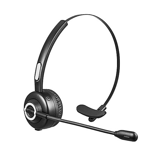 Bluetooth Headset Office Wireless Headset For Cell 1-Black