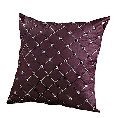Shinewerop Multi-Color Silk Satin Standard Pillow Case Cushion Cover Pillowcase Home Decor
