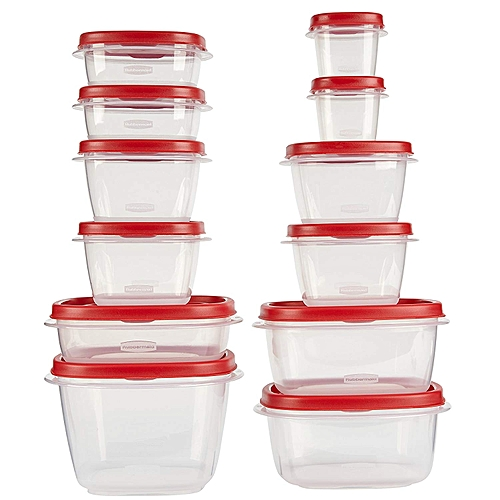 Rubbermaid 14 Pieces Easy Finds Lids