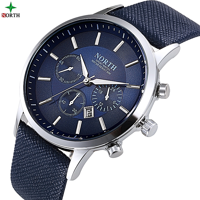 Men s Watch----High Quality Leather Top Brand Luxury Water Resistant And  Waterproof 2827e20f8c7f
