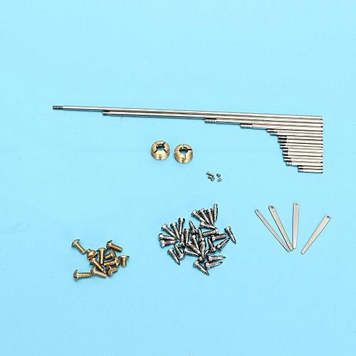 1 Sets Alto Sax Repair Parts Screws, Parts + Saxophone Springs Sax Accessories