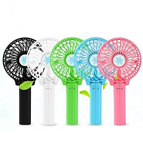 Handheld Fold-able Mini Fan Battery Operated Personal Fans