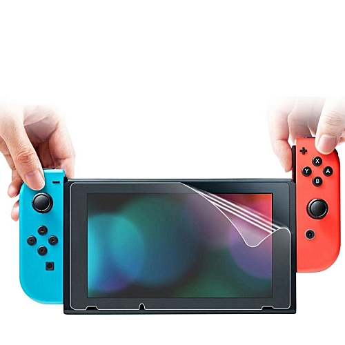 3Pcs Ultra Clear Transparent Pet Film Screen Protector For Nintendo Switch