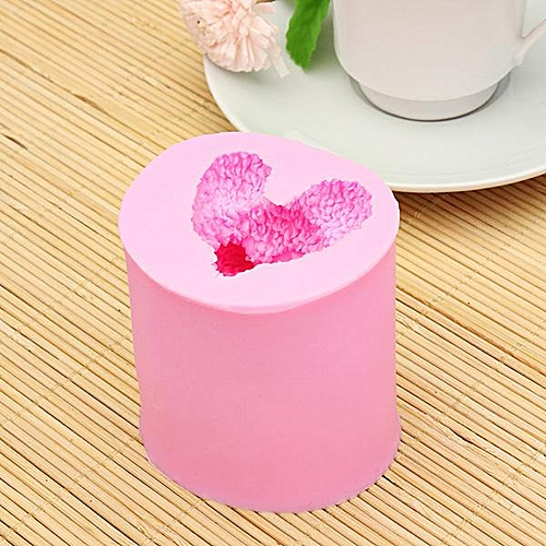 3D Cute Little Bear Silicone Mold Fondant Chocolate Soap Mould