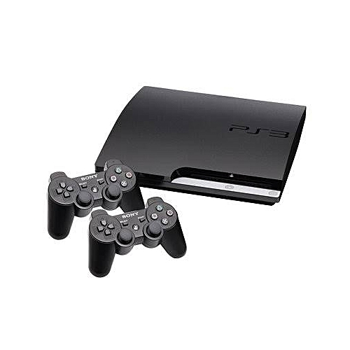Playstion 3 Slim Console 320gb With 2 Pad Controls