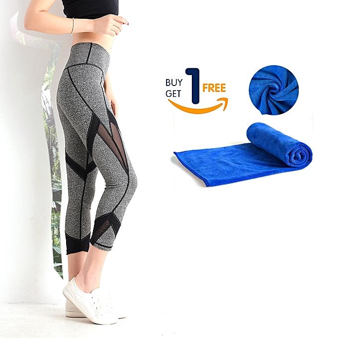 8f676b4ec6e7b Yoga Pants For Women High Waist Squat Proof With 2 Pockets Tummy Control  Stretch Workout PilatesHiking