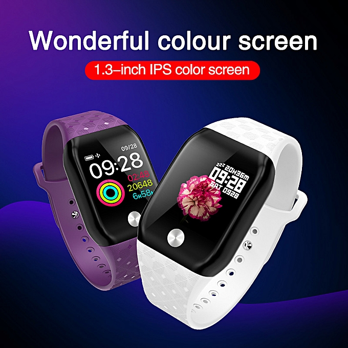 3889b9fe4 ... Smart Watch Blood Pressure OLED Touch Screen Heart Rate Monitor  Smartwatch Health Bracelet ...