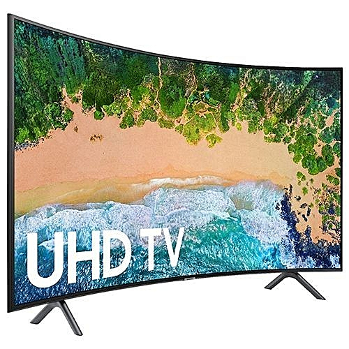 UHD 65 Inch 4K CURVED SMART TV - 65NU7300 With Free Wall Bracket